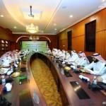 السبهان يستقبل رئيس تحرير جريدة الجزيرة بمركز الدكتور ناصر الرشيد للايتام بحائل