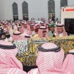 رئيس تحرير جريدة الجزيرة يزور نادي الجبلين بحائل