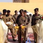 مدير شرطة حائل يكرم المواطن عبدالمنعم الشمري نظير تعاونه مع رجال الأمن