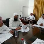 مدير التعليم بمحافظة عفيف يتفقد  مدرسة الشيخ عبدالعزيز بن باز